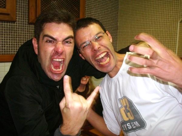 Tio Nitro & Douglas 3 + Pingas! :D