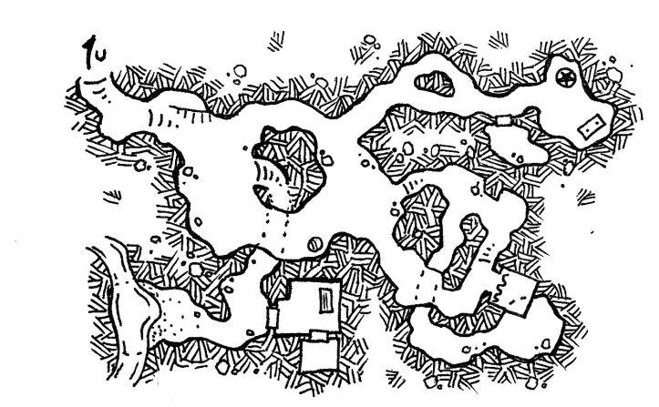 Mapa do Templo para encher de coisas - O Deus dos Chifres está na Estrelinha!