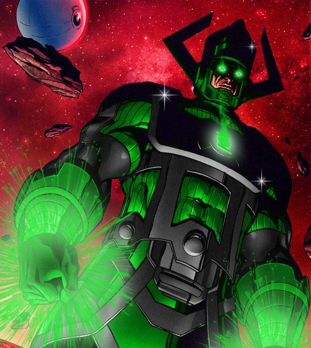 Galactus de Lanterna Verde! Isso é que é personagem roubado vééééi, ultimate inté no úrtimo!