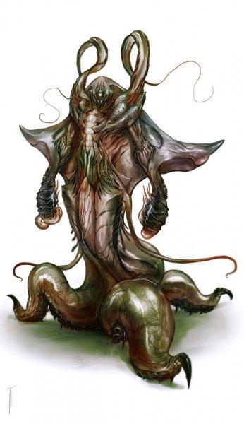 Um dos Monstros do Laboratório da Cenargo!