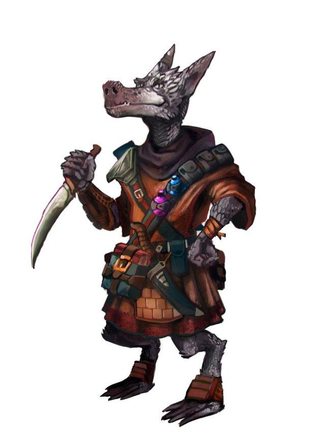Lorde Cheng, Kobold Líder dos Tumbas, a maior guilda de assassinos de Ustalav!