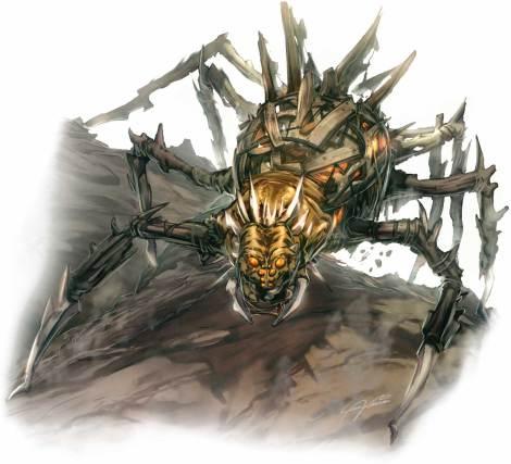 Aranhas-Golen de Grigori