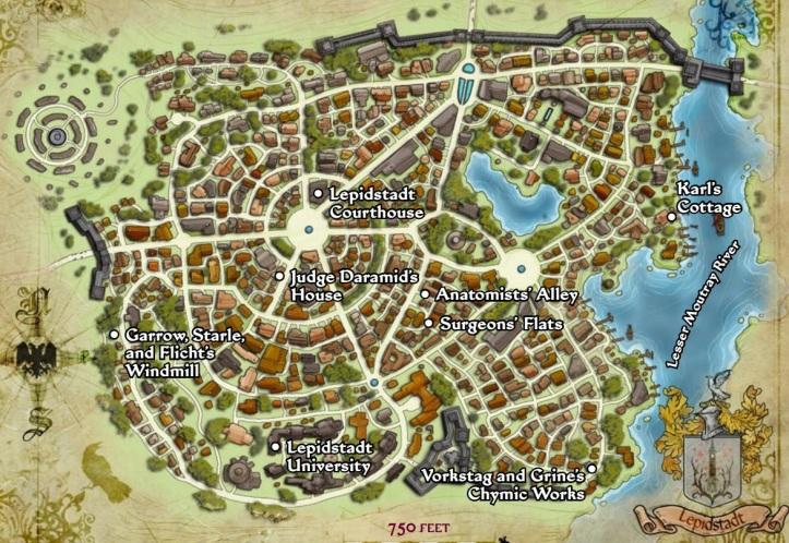 lepidstadt mapa