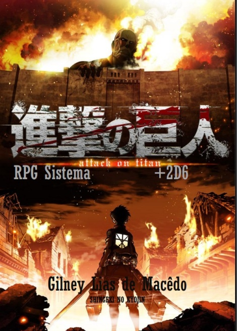capa attack on titan +2d6