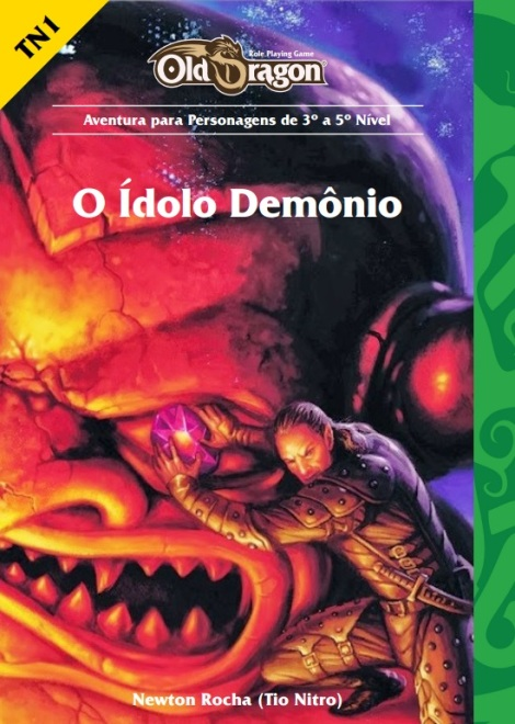 capa aventura idolo demonio nitro old dragon rpg