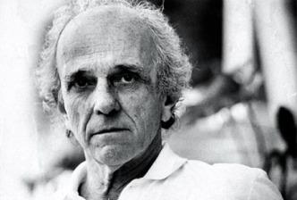 O escritor Rubem Fonseca