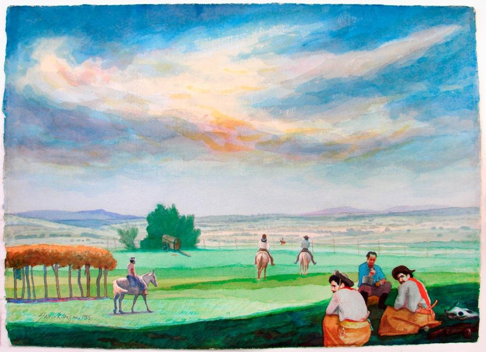 O Tempo e o Vento (1986) por Glauco Rodrigues