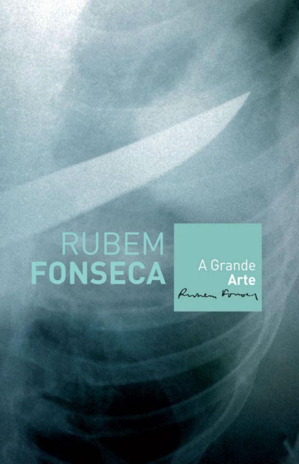 A Grande Arte - Rubem Fonseca- Capa