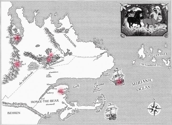 Mapa de CORONA - SAGA DO PRIMEIRO REI