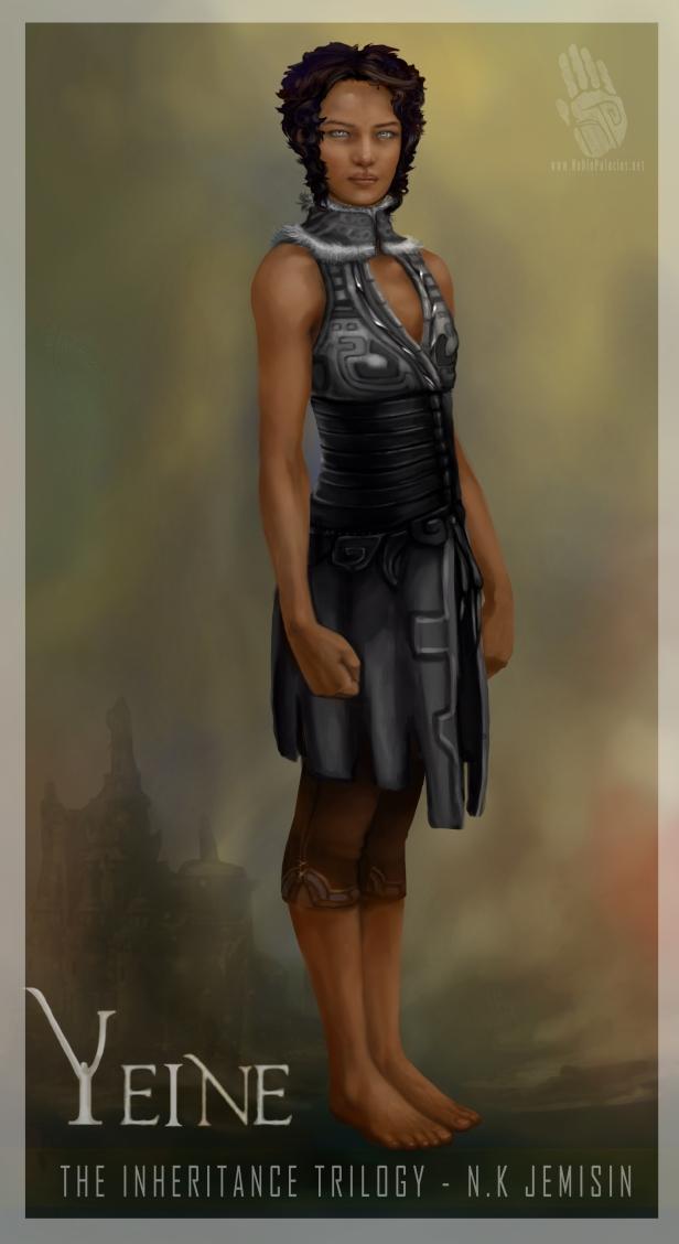Yeine - Protagonista dos Hundred Thousand Kingdoms
