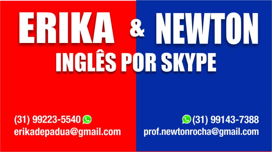 erika-e-newton-ingles-por-skype