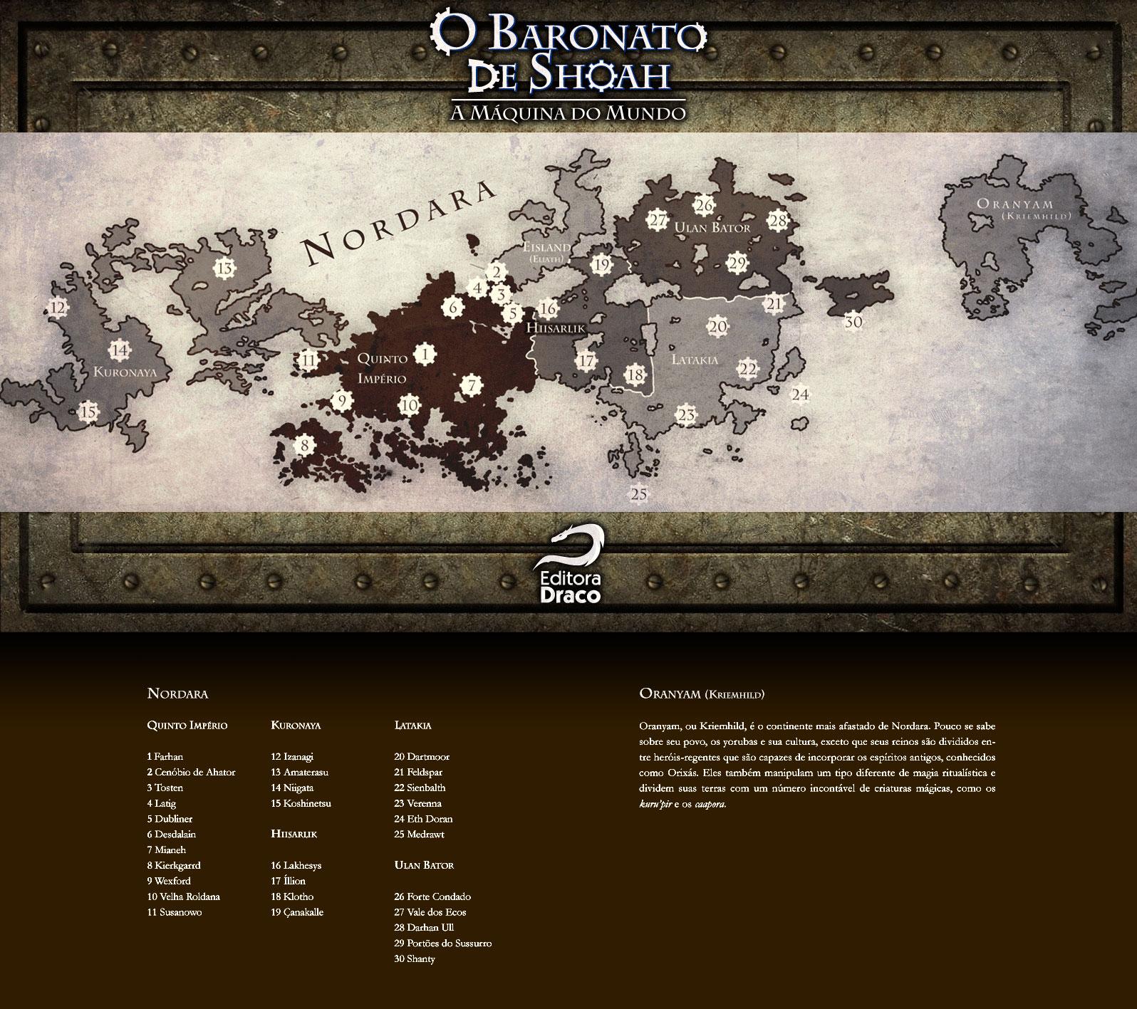 mapa de nordara