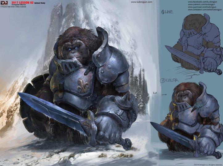 orangutan_warrior_by_dongjunlu-daxho5c (1)