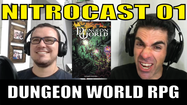 NITROCAST 01 - DUNGEON WORLD PNG