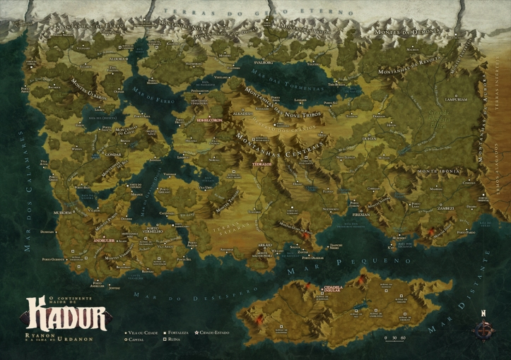 Mapa de Kadur