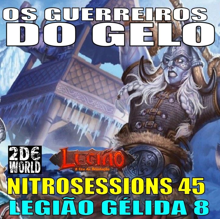 N45 - QUADRADO - Guerreiros do Gelo